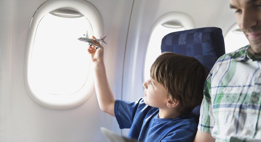 Documentación necesario para viajar con niños en avión