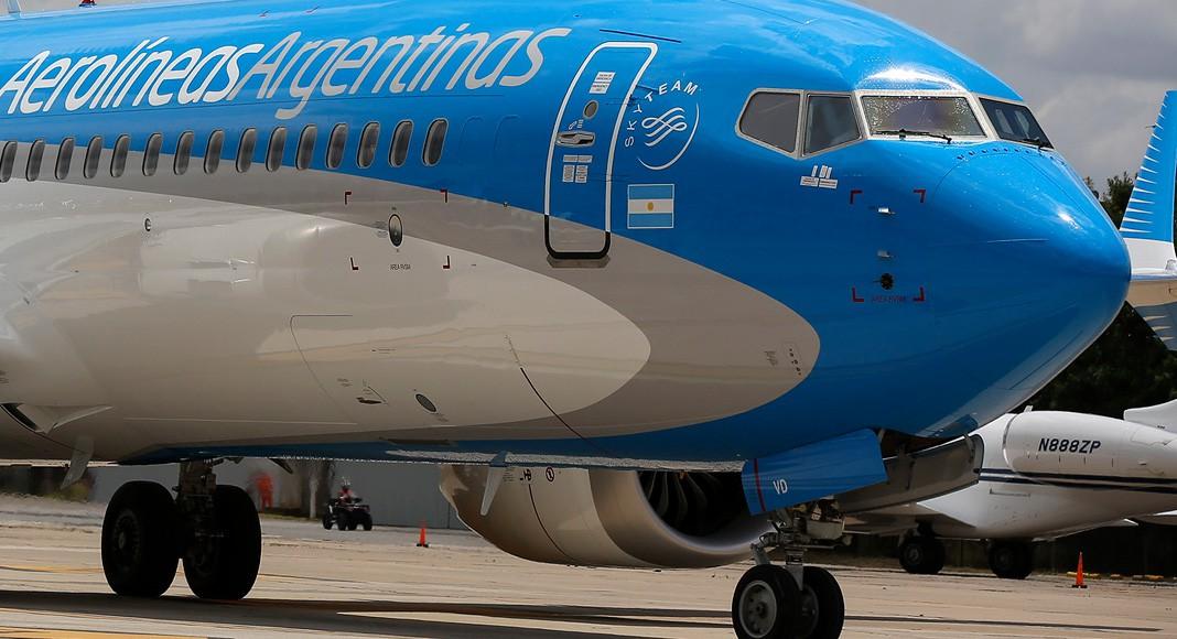 Cancelación vuelos aerolineas argentina
