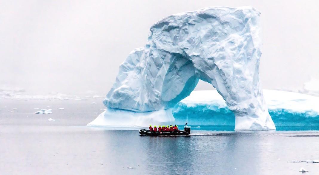 Navegación en la Antártida