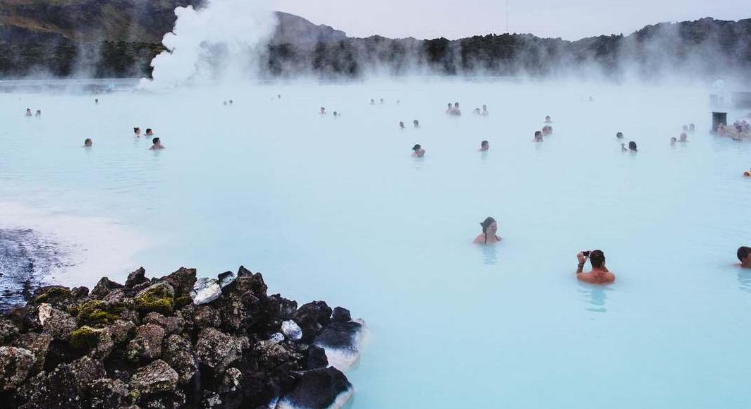 Increíbles termas en Islandia
