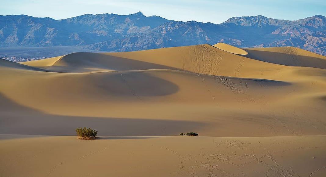 Dunas de arena Mesquite Flat