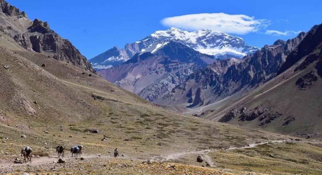 Trekking en el Aconcagua, Mendoza