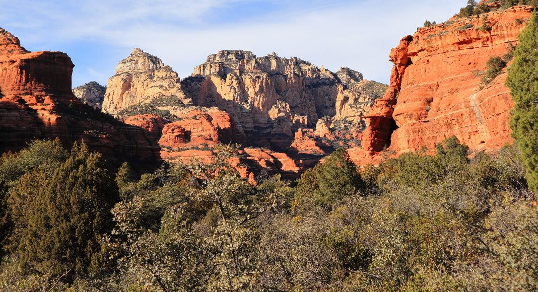Montes rocosos en Quebrada de las Señoritas