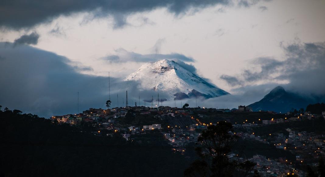Montaña en Ecuador