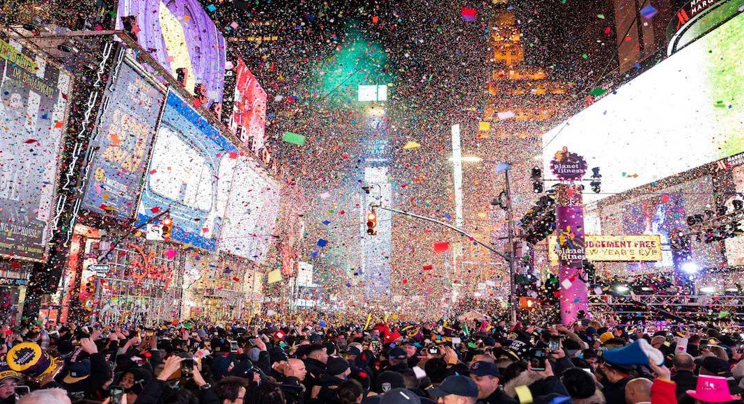 Fiesta de Año Nuevo en Nueva York