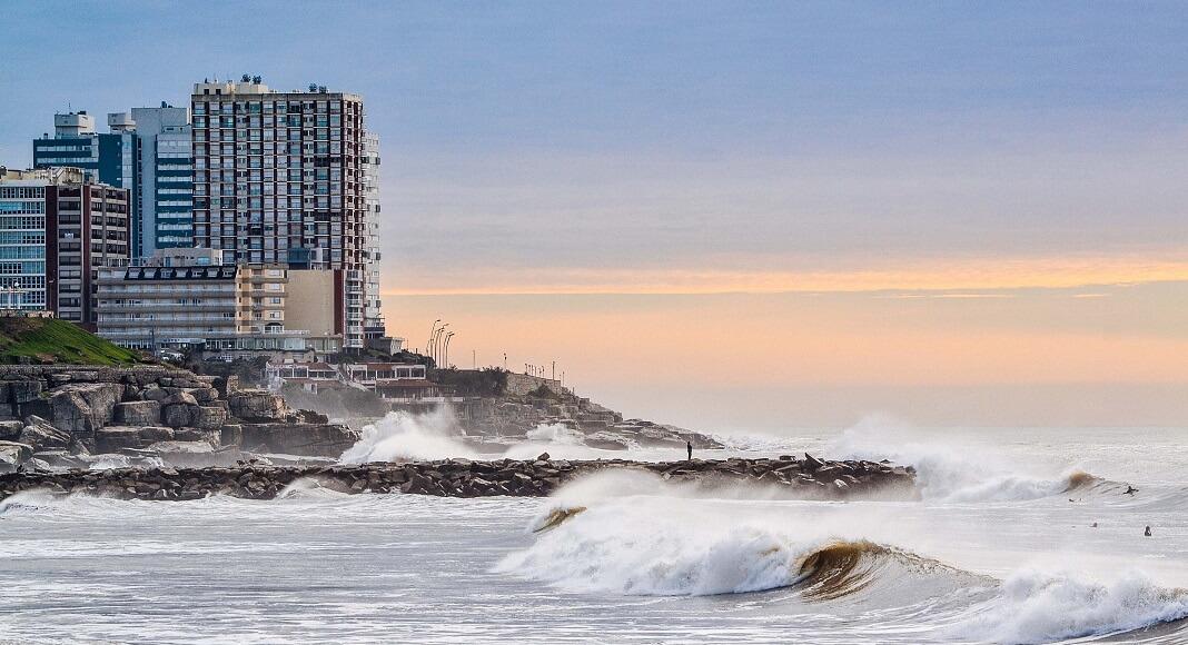Playa en Mar del Plata