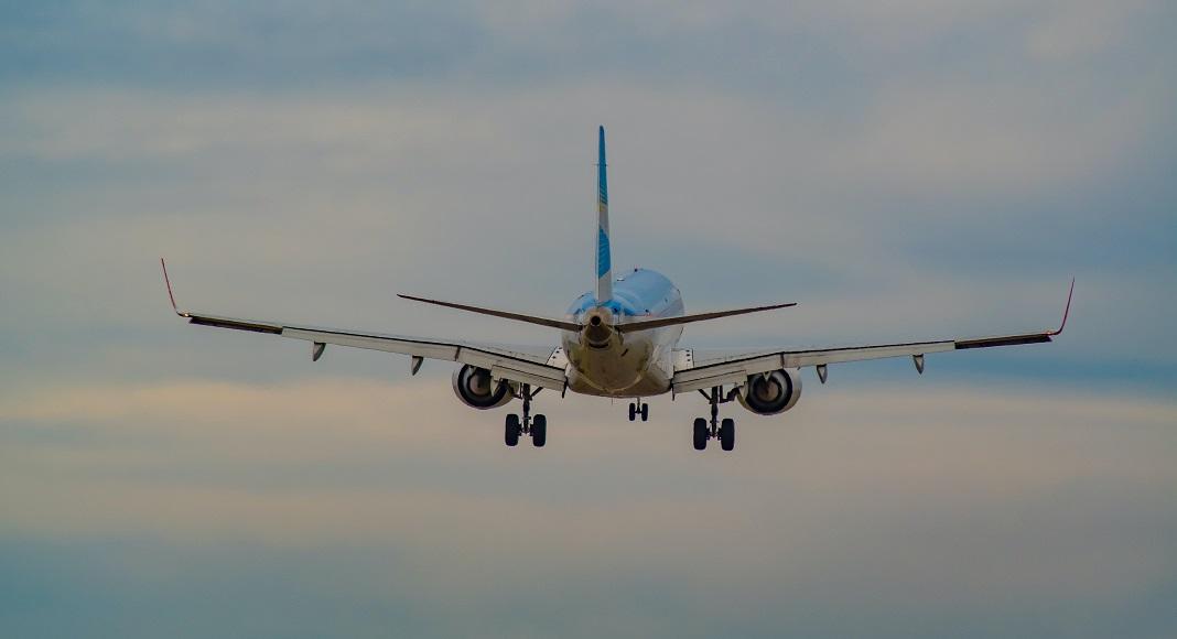 Vuelo desde Ezeiza de Aerolíneas Argentinas