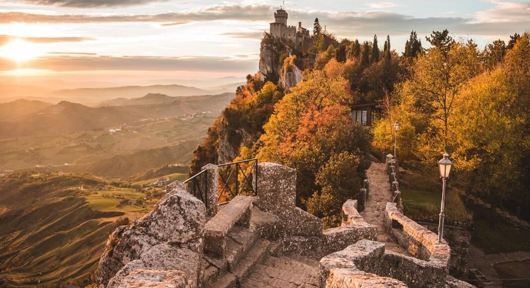Castillo en San Marino