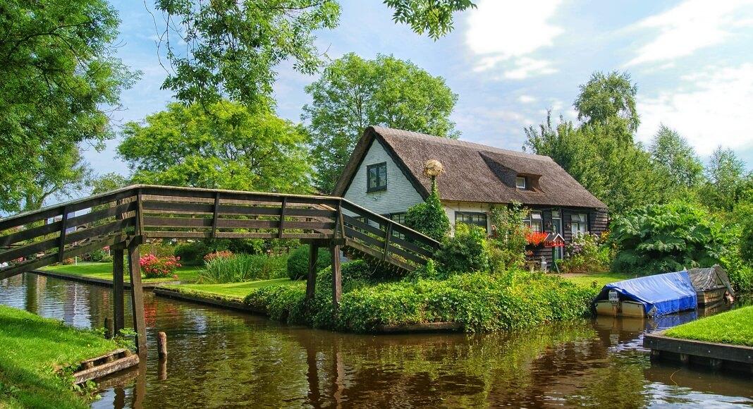 Puente en Países Bajos