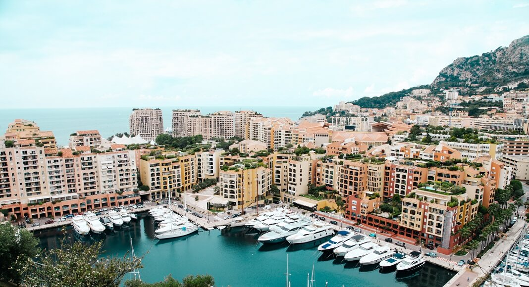 Puerto en Mónaco
