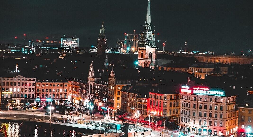 Suecia de noche