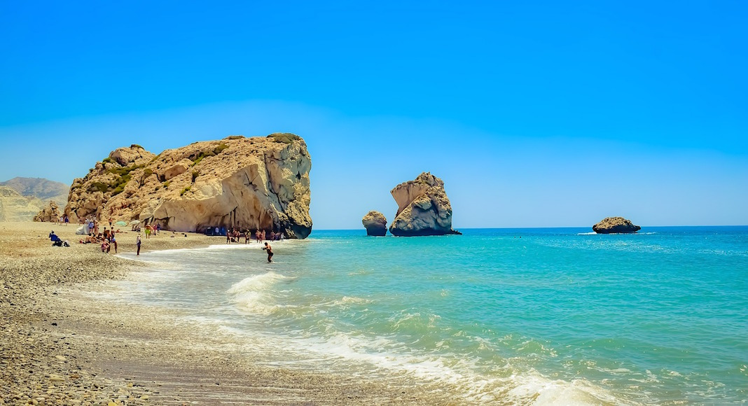 Playa afrodita en Chipre