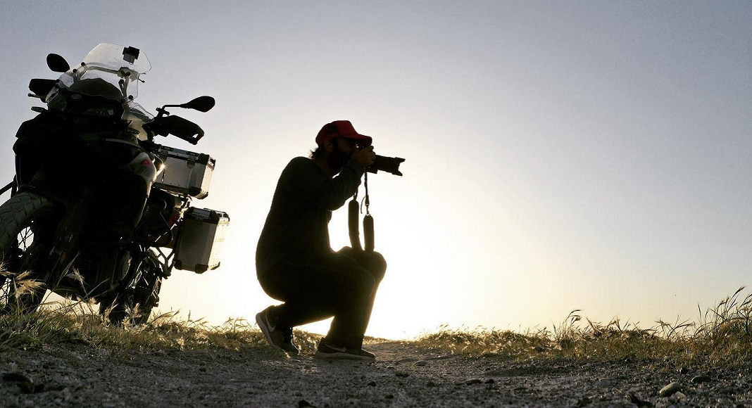 Fotografo en estilos de viaje.